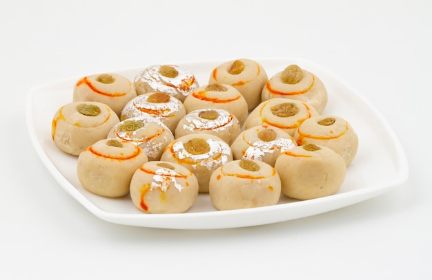 Indian traditional sweet food peda