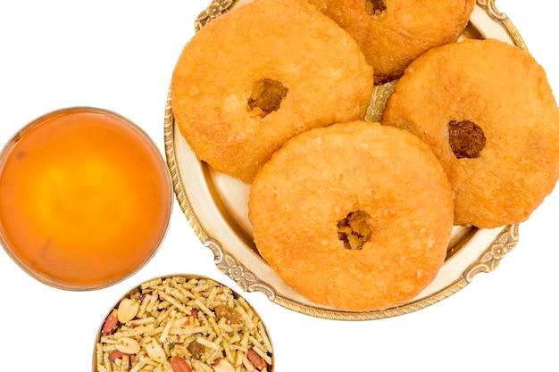 Indian traditional sweet kachori