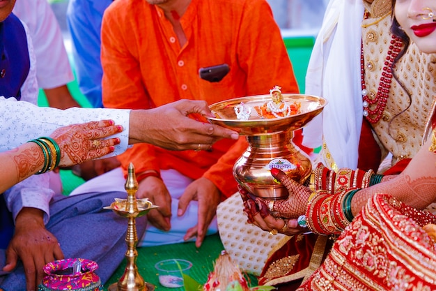 Indian traditional wedding ceremony photography