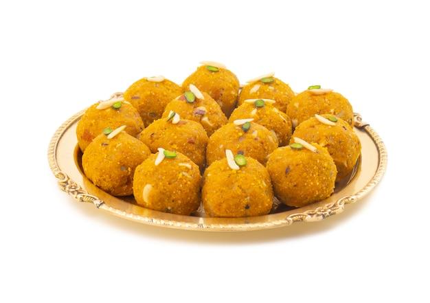 Indian traditional winter sweet food methi laddu