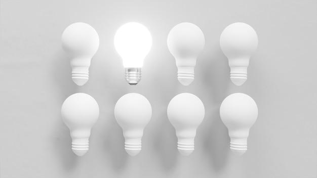 電球の個性コンセプト