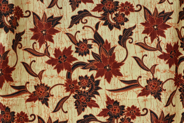 Indonesian batik background