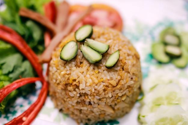 Indonesian food nasi goreng fried rice