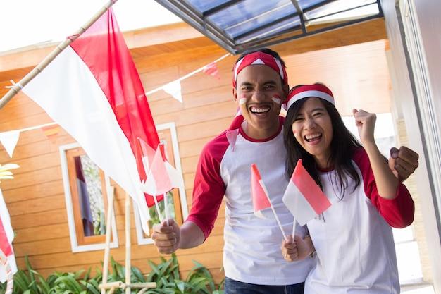 Празднование дня независимости индонезии