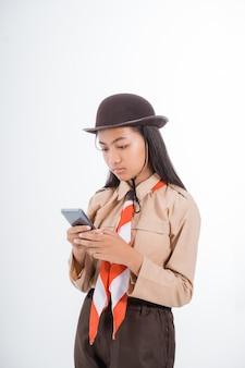 Индонезийский младший школьник