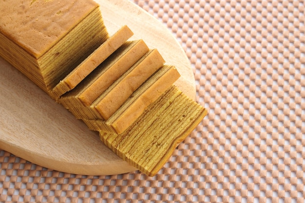 Indonesian layered cake is a favorite cake for special celebrations