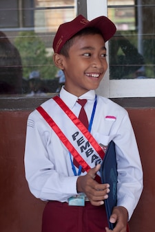 Индонезийские школьники