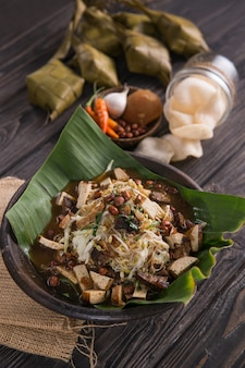 Indonesian traditional culinary dish