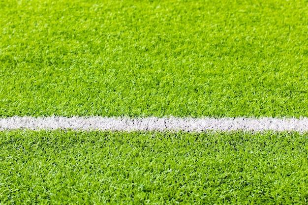 Indoor soccer, soccer field artificial grass