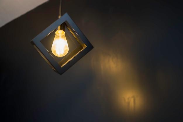 Indoor vintage retro light ceiling lamp