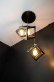 실내 빈티지 레트로 조명 천장 램프