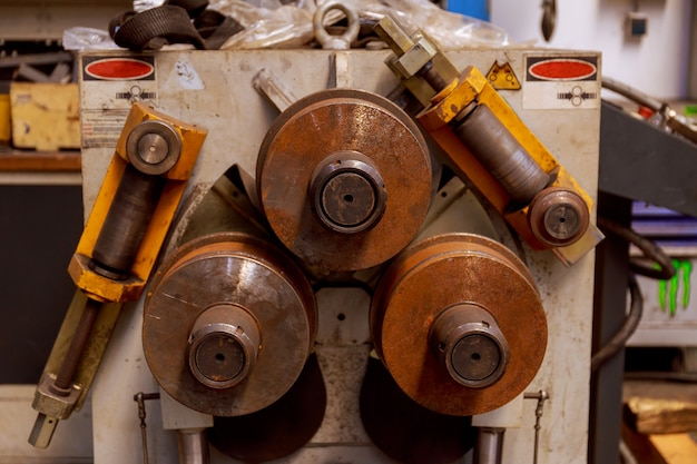 Промышленный гибочный станок для гибки металлических труб