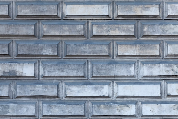 Industrial grey brick wall horizontal background