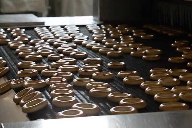 ビスケットとベーグルの生産のための産業ライン
