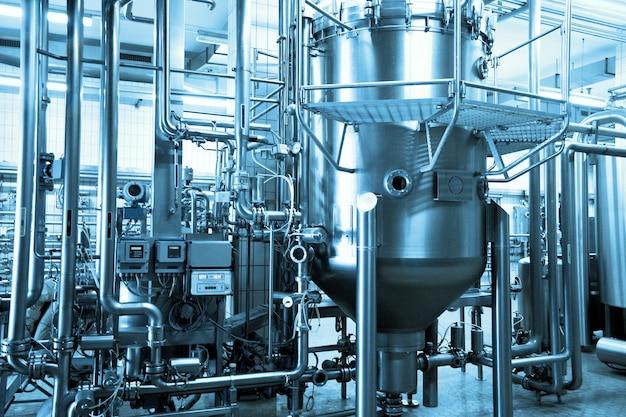 Industrial metallic machinery