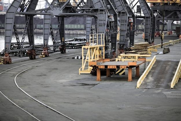 Industrial pier at odessa