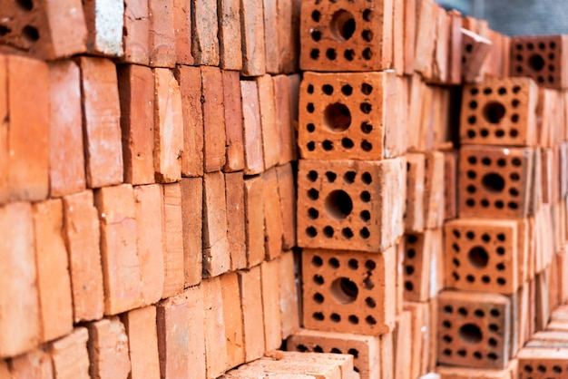 Industrial production of bricks
