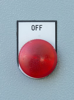Industrial switching button of control panel