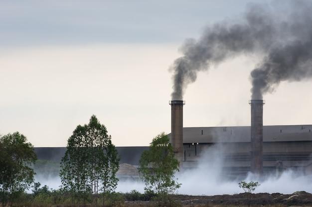 Industrial waste.
