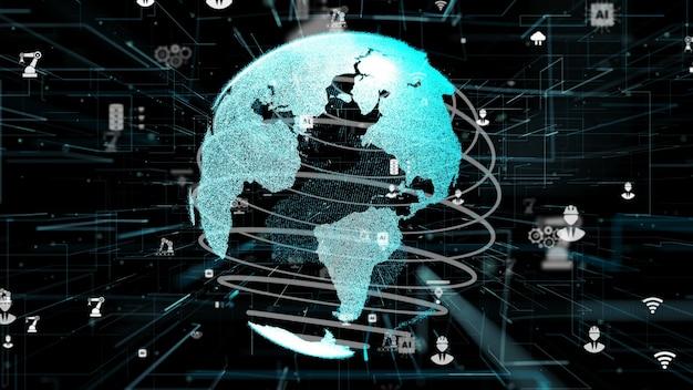 Концепция инноваций в области цифровых кибертехнологий индустрии 4.0