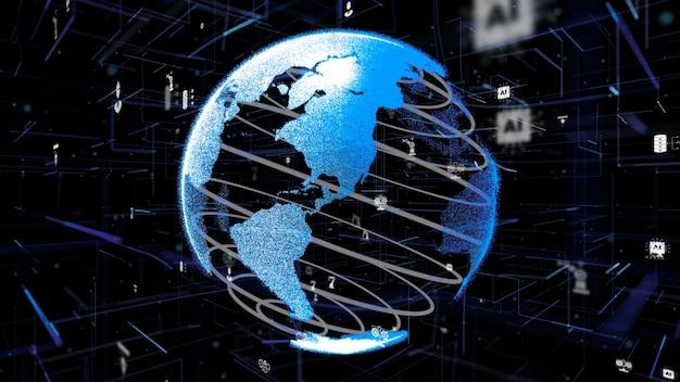 Industry 4.0 디지털 사이버 기술 혁신 개념