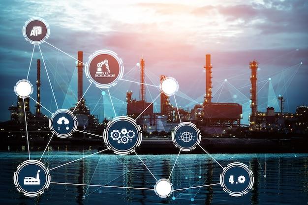 Industry 4.0 기술 개념 - 4차 산업혁명을 위한 스마트 공장