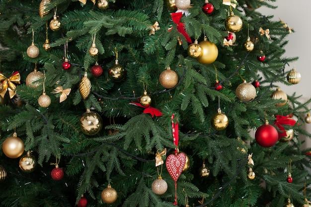 クリスマスツリーとinerior