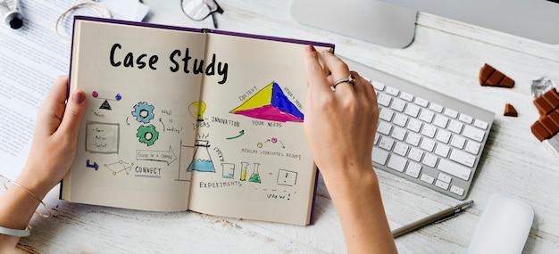 정보 사례 연구 연구 검증 분석 스케치 무료 사진