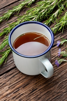 Infusion of rosemary.