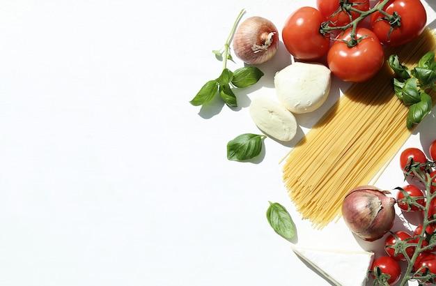 Ингредиенты для приготовления пасты