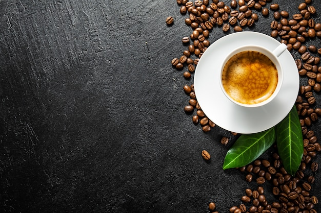 Ингредиенты для приготовления плоского кофе