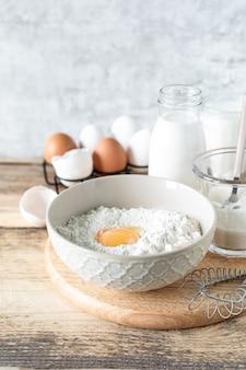 Ингредиенты для крошечного блина по рецепту