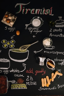 Ingredienti per il tiramisù