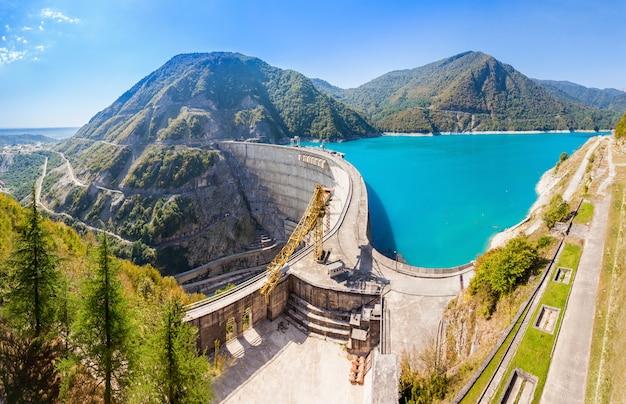 Inguri reservoir, georgia