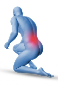 Injured lumbar