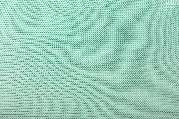 The inner part of the knitted fabric is mintgreen blank mint green background for layouts