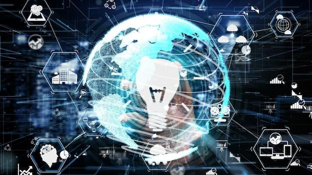 概念的なビジネスファイナンスのためのイノベーションテクノロジー