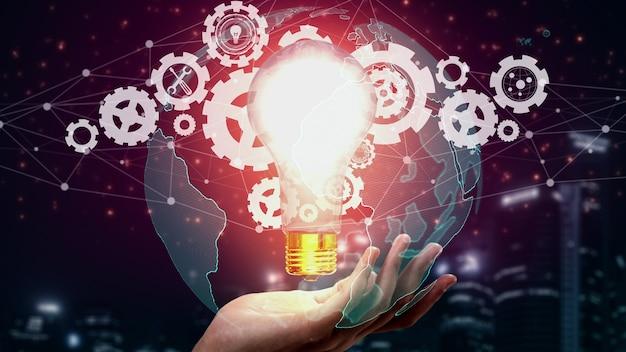 Инновационные технологии для бизнес-финансов концептуальные