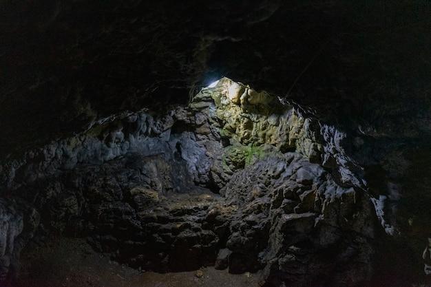 Inside dambovicioara cave, piatra craiului  mountains, piatra craiului national park