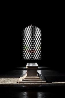 Inside humayuns tomb