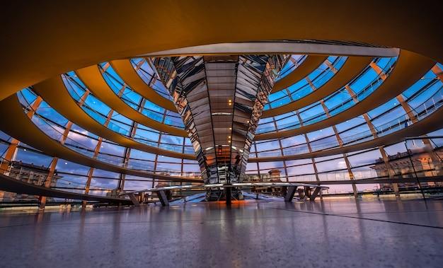 国会議事堂のドームの内側