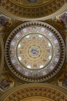 Inside the st stephen's basilica