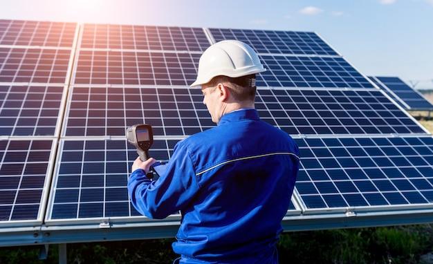 열화상 카메라를 이용한 태양광 모듈 검사원 검사