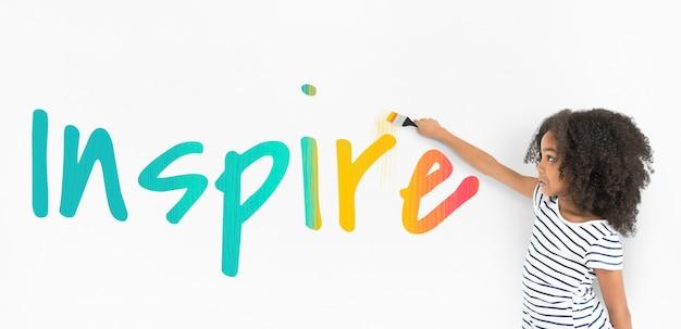 영감 용기 자유 열정 단어