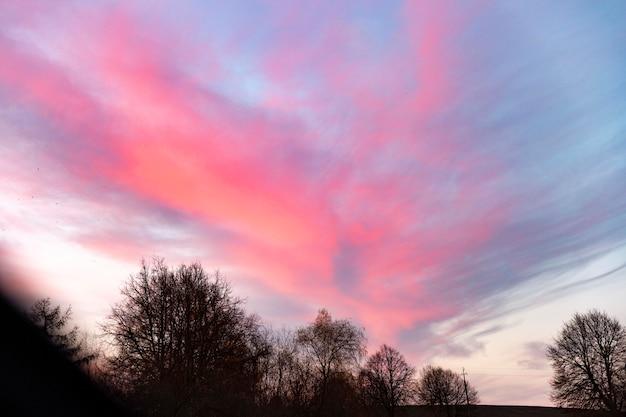 Inspiring view of morning light