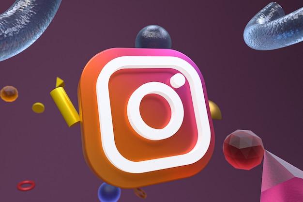 Instagram геометрический абстрактный логотип