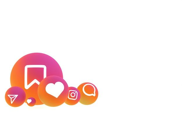 白に設定するinstagramのアイコン