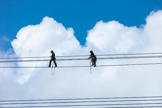 Модификация установки высоковольтных электрических кабелей