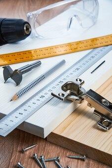 Установка мебельных петель в дсп инструменты и аксессуары