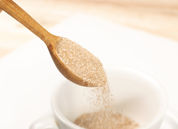 Premium Photo | Instant coffee powder